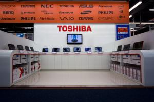 Shop-in-shop Toshiba